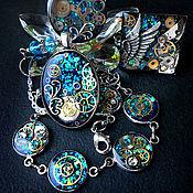 Субкультуры ручной работы. Ярмарка Мастеров - ручная работа Кулон, подвеска перстень и браслет. Handmade.