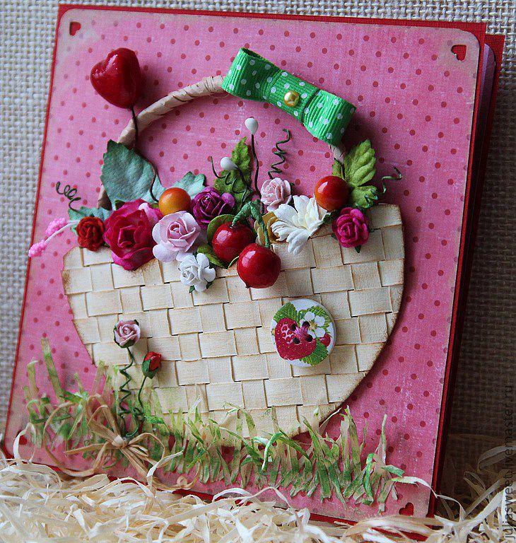 алифатическим открытка ягодка своими руками подойдет