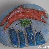 Сувениры и подарки ручной работы. Ярмарка Мастеров - ручная работа Расписные морские камешки в подарок. Handmade.
