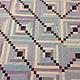 Текстиль, ковры ручной работы. Бирюза. Оксана Сергеева Шитие мое. Ярмарка Мастеров. Покрывало пэчворк, изба, сиреневый, бамбук