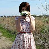 """Одежда ручной работы. Ярмарка Мастеров - ручная работа платье в пол  """"matin rose"""". Handmade."""