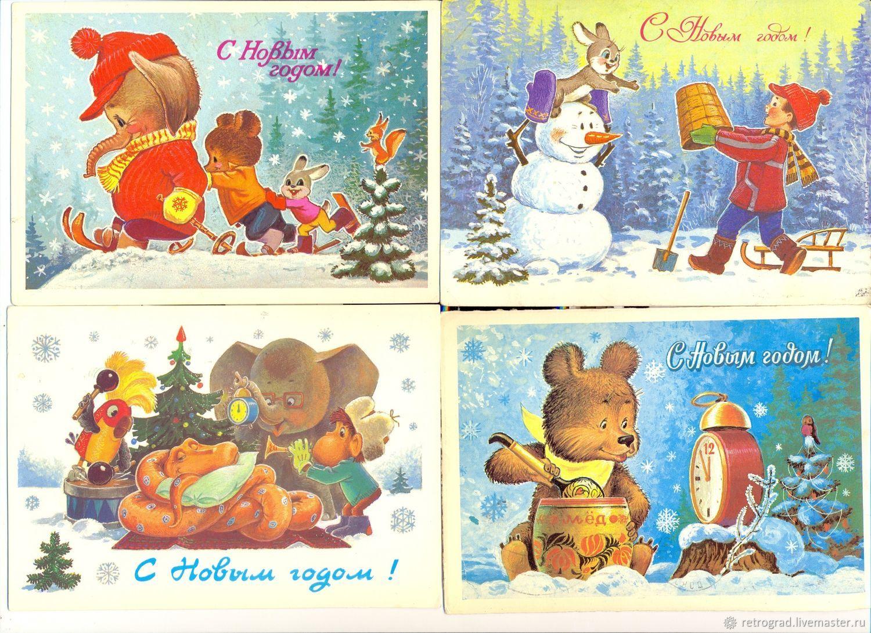 Новым годом, художник зарубин открытки цены
