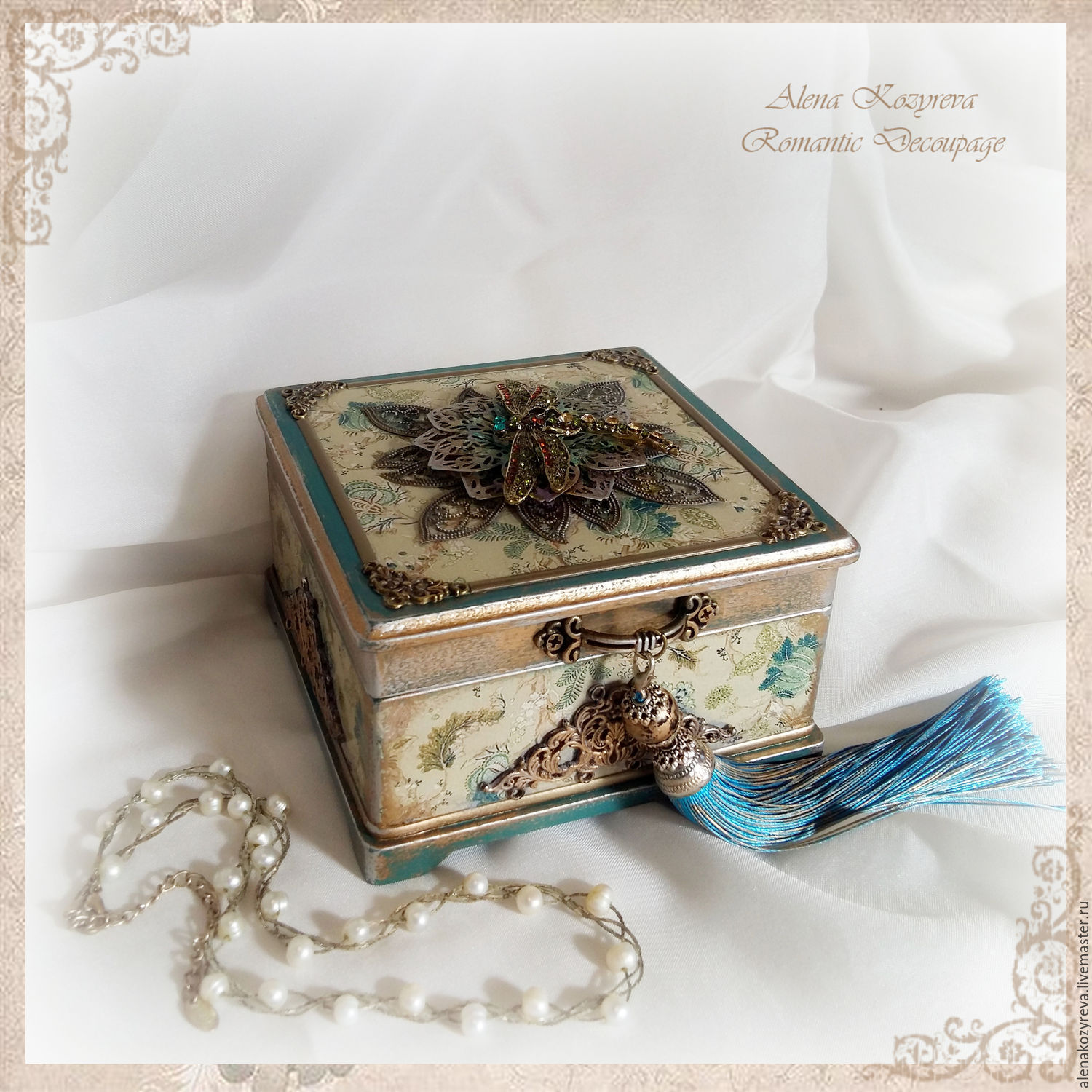 Jewelry box Youre singing shop online on Livemaster with