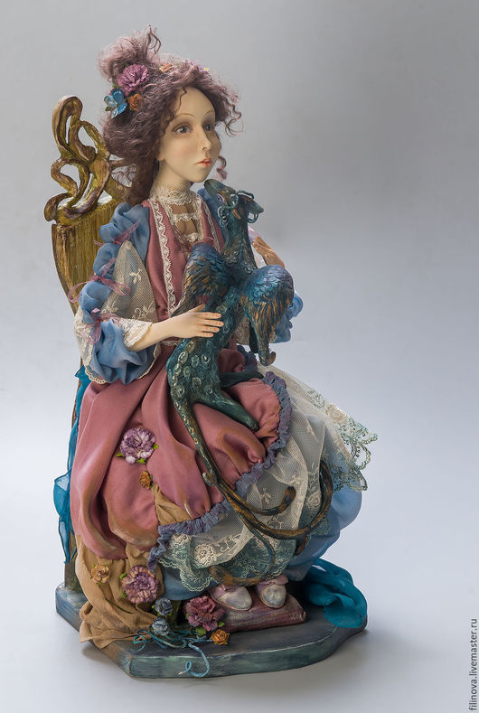Коллекционные куклы ручной работы. Ярмарка Мастеров - ручная работа. Купить В Некотором царстве..., по ту сторону сказки... Художественная кукла. Handmade.
