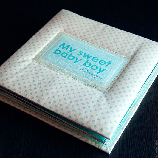 Фотоальбомы ручной работы. Ярмарка Мастеров - ручная работа. Купить My sweet Baby Boy. Handmade. Голубой, фотоальбомы