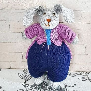 Куклы и игрушки ручной работы. Ярмарка Мастеров - ручная работа Кролик по мотивам схем Алана Дарта. Handmade.