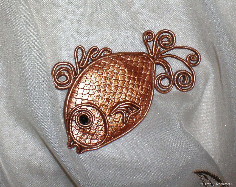Магнит на холодильник Золотая рыбка, Магниты, Азов,  Фото №1