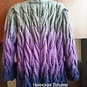 Одежда handmade. Livemaster - original item Cardigan Lalo braids.. Handmade.
