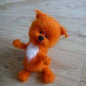 Куклы и игрушки handmade. Livemaster - original item Squirrel Lelik ) - crochet toy squirrel. Handmade.