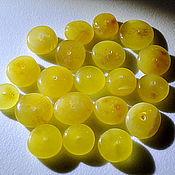 Cabochons handmade. Livemaster - original item Amber. Set of beads No. №1.. Handmade.