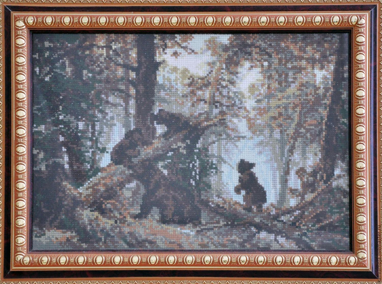 сосновый бор вышивка крестом схемы