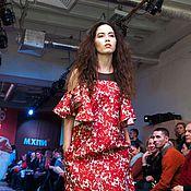 Одежда handmade. Livemaster - original item Dress with flounces. Handmade.