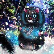 Куклы и игрушки ручной работы. Ярмарка Мастеров - ручная работа Чеширский котик. Handmade.