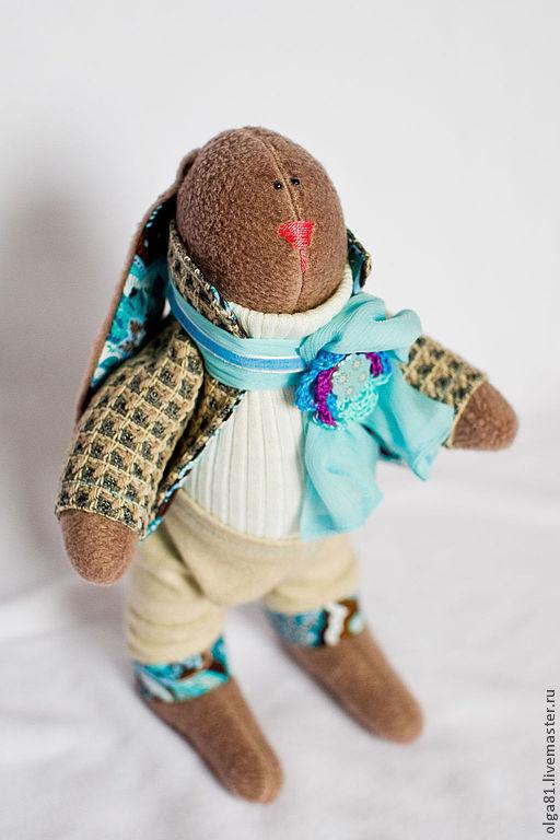 Куклы Тильды ручной работы. Ярмарка Мастеров - ручная работа. Купить Мартовский Кролик.. Handmade. Бежевый, кролик, заяц текстильный