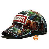 Аксессуары handmade. Livemaster - original item Full print marvel baseball cap. Handmade.