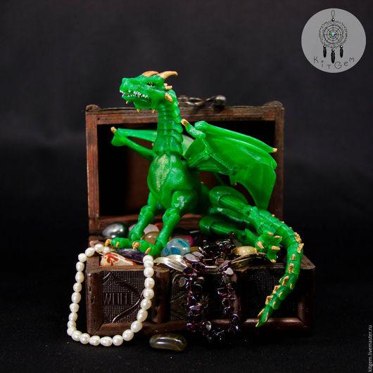 Сказочные персонажи ручной работы. Ярмарка Мастеров - ручная работа. Купить Дракон шарнирный BJD (БЖД) по имени Граф Сентябрь. Handmade.