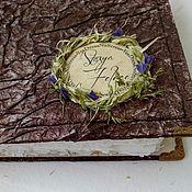 Подарки к праздникам handmade. Livemaster - original item Notepad for records. Handmade. Handmade.