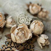 Свадебный салон ручной работы. Ярмарка Мастеров - ручная работа Винтажные заколочки с розочками. Handmade.