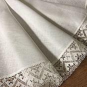 Для дома и интерьера handmade. Livemaster - original item Linen tablecloth
