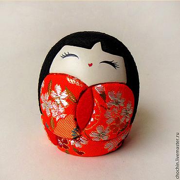 Куклы и игрушки ручной работы. Ярмарка Мастеров - ручная работа Мэй — кокэси кокейси кокеши коллекционная кукла кимекоми кимэкоми. Handmade.