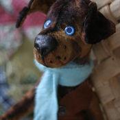 Куклы и игрушки ручной работы. Ярмарка Мастеров - ручная работа пёс Шарик. Handmade.