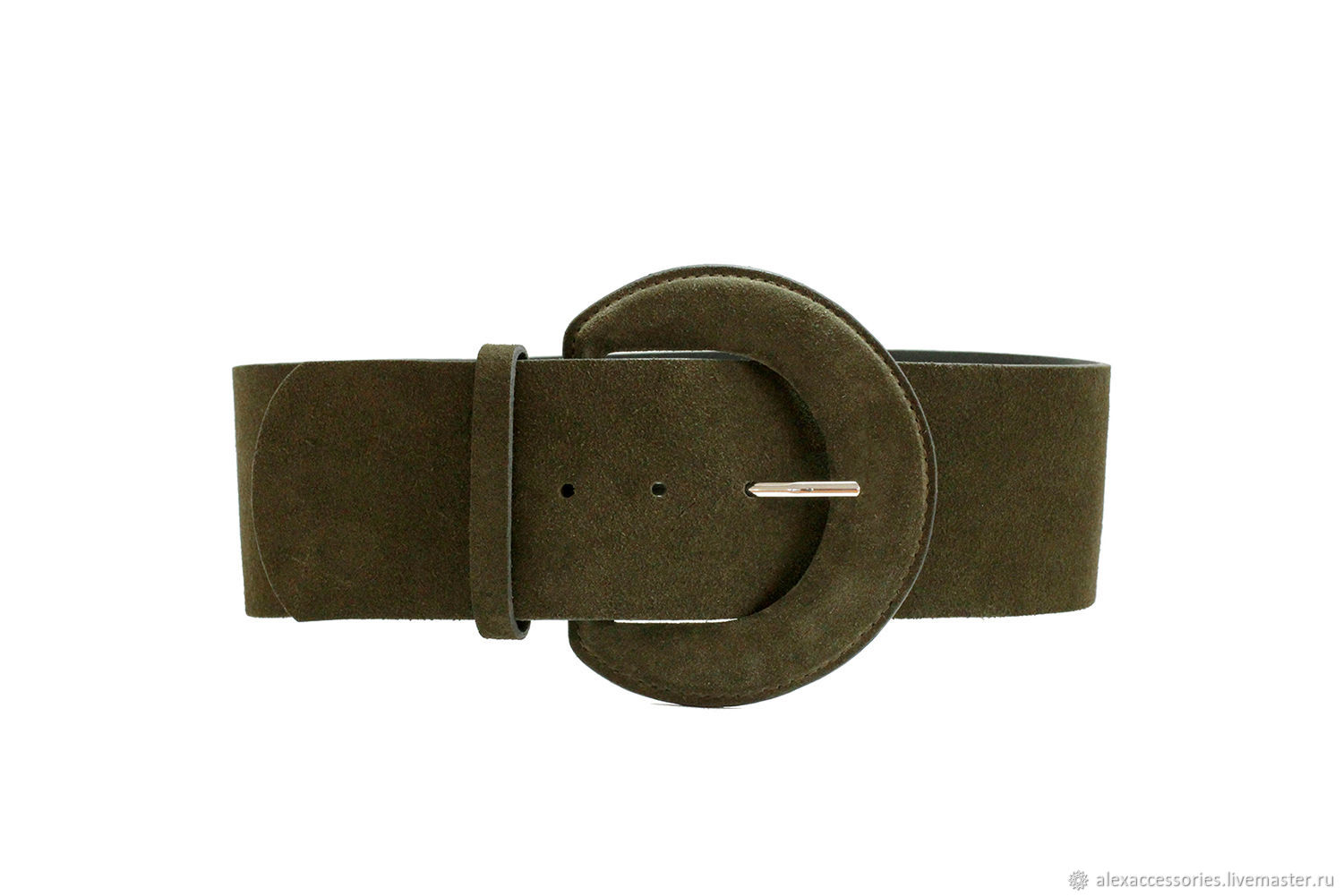 Copy of Copy of Copy of Copy of Beige suede belt, Straps, Moscow,  Фото №1