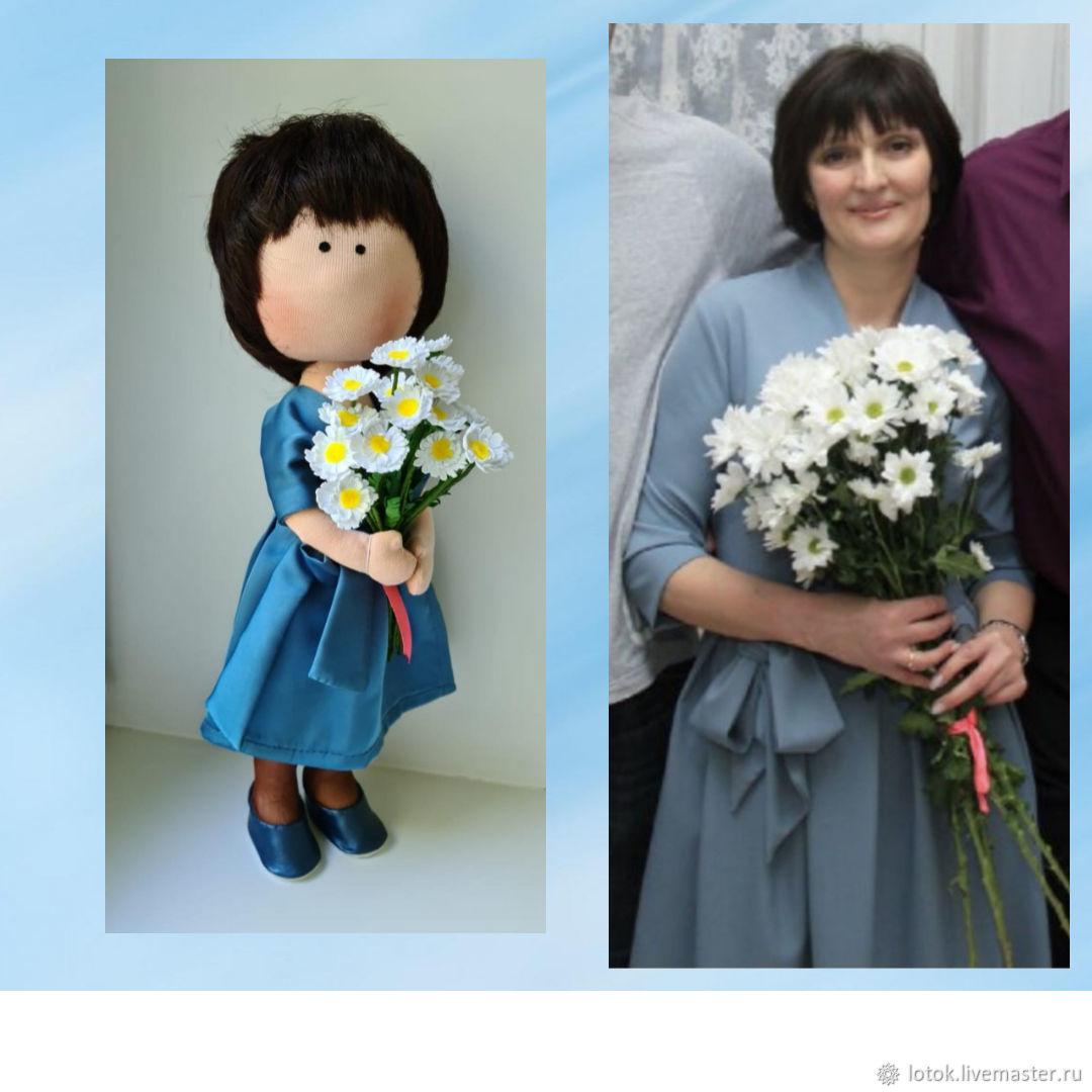 Кукла по фотографии, Интерьерная кукла, Рязань,  Фото №1