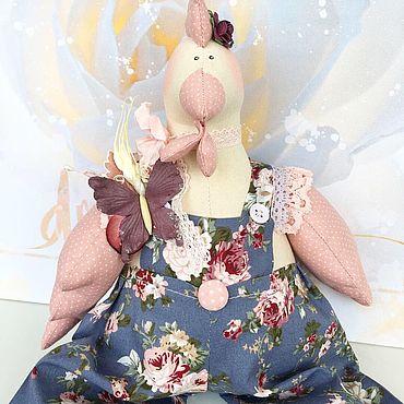Куклы и игрушки ручной работы. Ярмарка Мастеров - ручная работа Тильда курочка. Handmade.