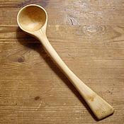 Посуда handmade. Livemaster - original item Spoon maple large. Handmade.