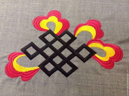 """Аппликации, вставки, отделка ручной работы. Ярмарка Мастеров - ручная работа. Купить Вышивка на одежде, аппликация, картинка, картина """"Стильное пламя"""". Handmade."""