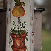 """Картины и панно ручной работы. Ярмарка Мастеров - ручная работа Панно """"Груша"""". Handmade."""