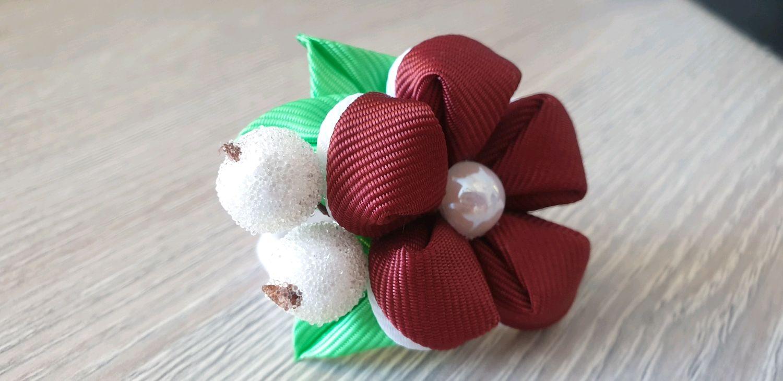 Резинка для волос с ягодками, Заколки, Красноярск, Фото №1