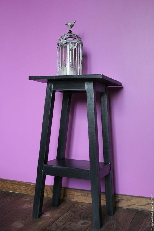 """Мебель ручной работы. Ярмарка Мастеров - ручная работа. Купить Этажерка """"Пирамида"""". Handmade. Черный, мебель из дерева"""