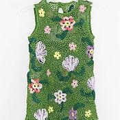 """Работы для детей, ручной работы. Ярмарка Мастеров - ручная работа Детское платье """"Цветочная полянка"""". Handmade."""