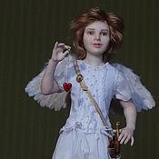Куклы и пупсы ручной работы. Ярмарка Мастеров - ручная работа Амур с сердем. Handmade.