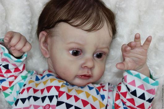 Куклы-младенцы и reborn ручной работы. Ярмарка Мастеров - ручная работа. Купить Хлоя 2 ). Handmade. Бежевый, винил