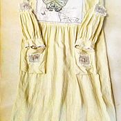 Одежда handmade. Livemaster - original item Vestido de lino