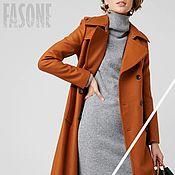 Одежда handmade. Livemaster - original item coat: Women`s wool coat with belt