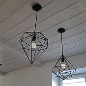 Для дома и интерьера handmade. Livemaster - original item Hanging lamp in the loft. Handmade.