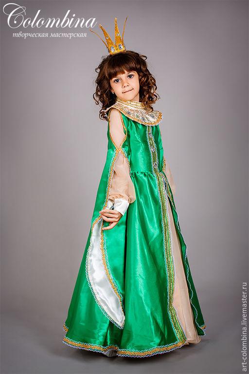 Купить Костюм Царевны Лягушки - зеленый, царевна лягушка ... - photo#36