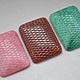 Для украшений ручной работы. Ярмарка Мастеров - ручная работа. Купить Винтажные кабошоны 25х18 мм цвет Snake skin. Handmade.