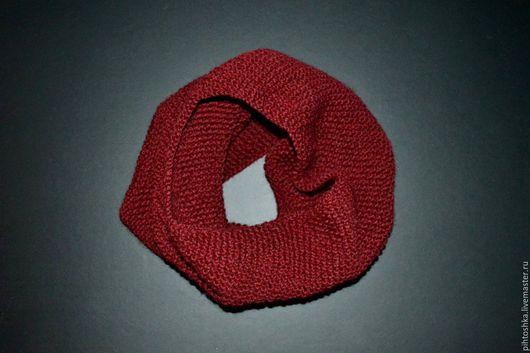 Шарфы и шарфики ручной работы. Ярмарка Мастеров - ручная работа. Купить шерстяной снуд. Handmade. Шарф, шарфик, шарфик вязаный