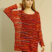 """Одежда ручной работы. Ярмарка Мастеров - ручная работа Свитер-туника """"Монпансье"""". Handmade."""