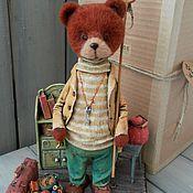 """Куклы и игрушки ручной работы. Ярмарка Мастеров - ручная работа """"У бабушки"""" папье-маше, фелтинг. Handmade."""