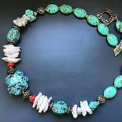 Украшения handmade. Livemaster - original item The sea is calling...necklace. Handmade.