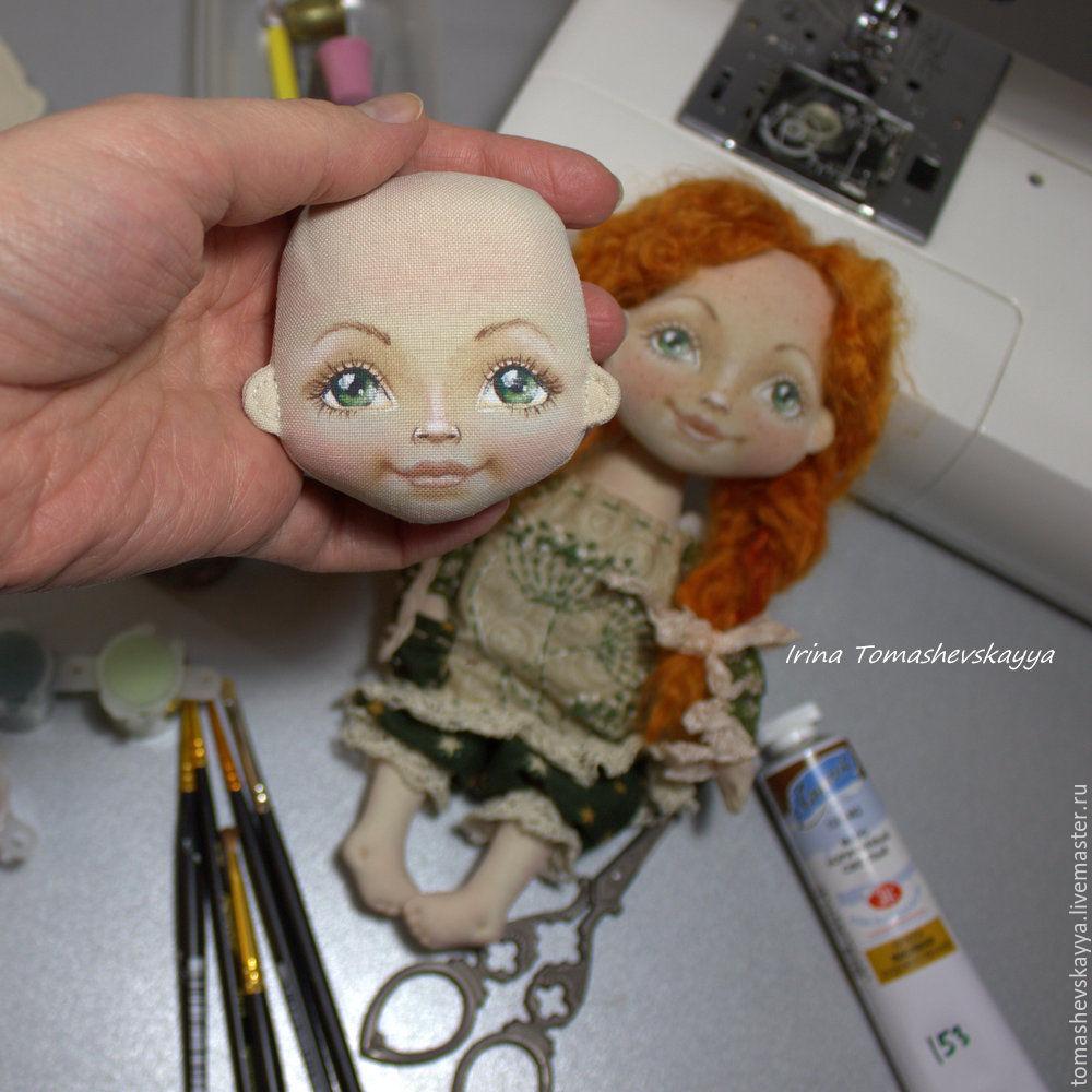 Выкройки текстильных кукол мастер класс