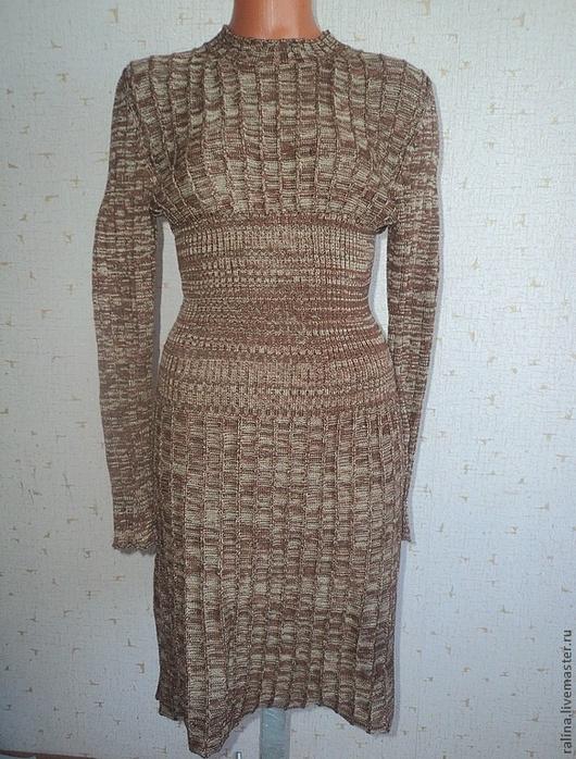 Платья ручной работы. Ярмарка Мастеров - ручная работа. Купить интерпретация платья от  Виктории Сикрет. Handmade. Коричневый, платье, для девушек