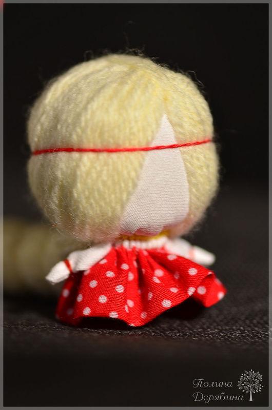 """Народные куклы ручной работы. Ярмарка Мастеров - ручная работа. Купить Куколка на счастье """"Цветочек"""". Handmade. Ярко-красный, оберег"""
