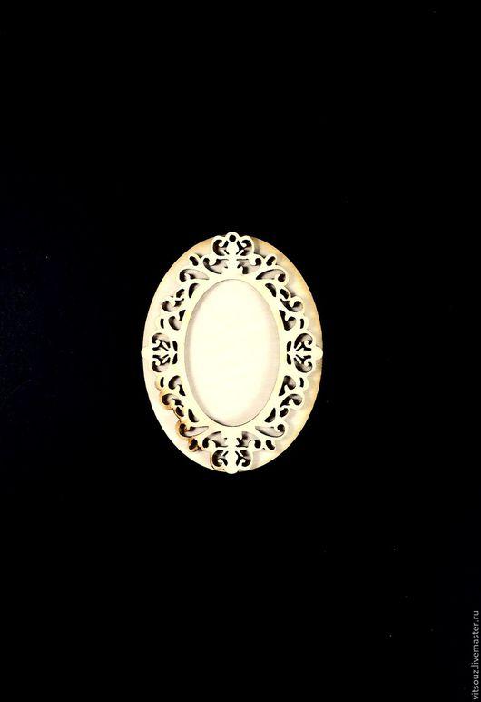 Арт. ИЗ-005 Медальон-накладка (Средний Ажур)