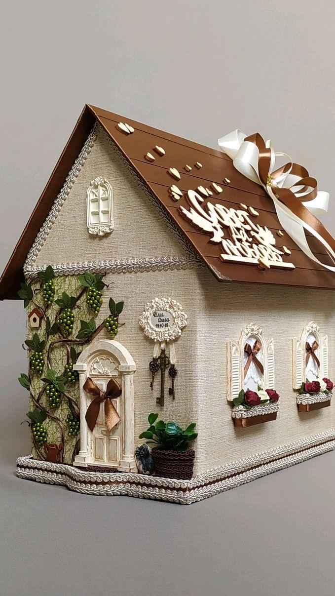 Свадебная казна, домик,упаковка для денег, свадебная коробка, подарок, Подарки, Химки,  Фото №1